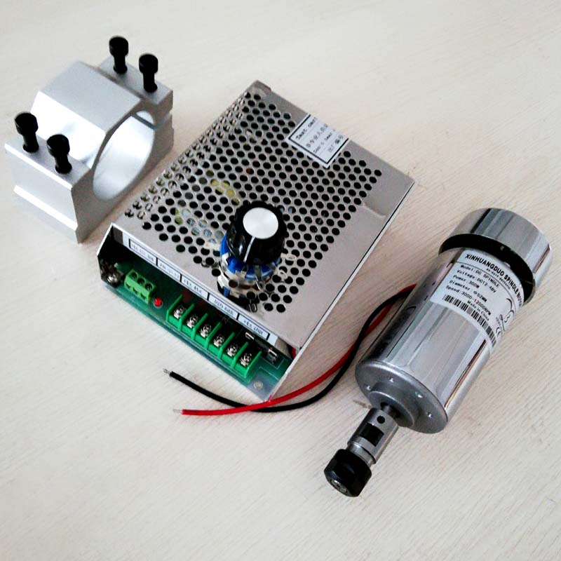 300w dc spindle motor 52 mm clamp send four screws Speed control power supplyPower Supply Speed