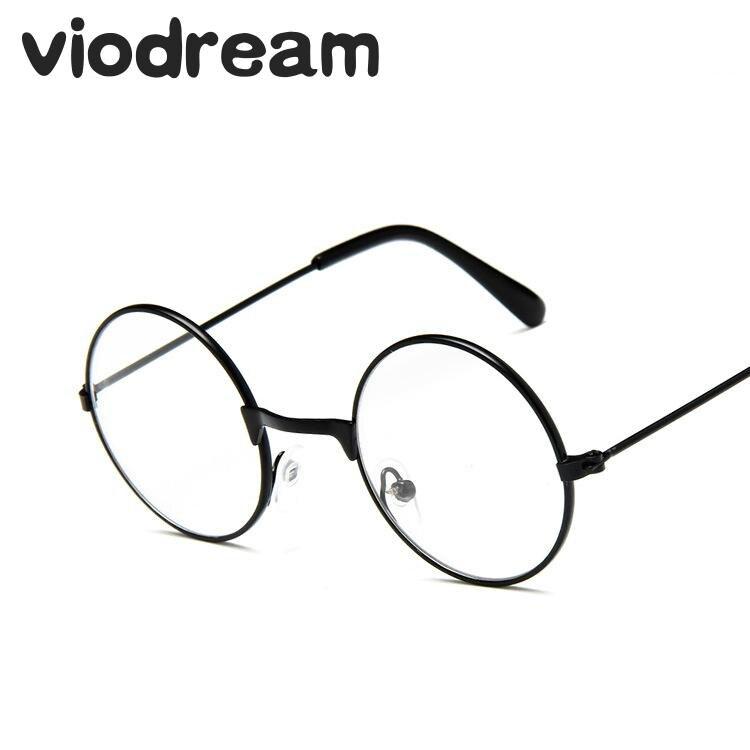 Viodream Vintage Rodada Crianças Óculos De Armação de Prescrição Óculos de Armação de óculos De Metal Decorativo Oculos de grau Meninos Meninas