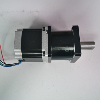 Ratio50:1 NEMA23 57*56mm stepper motor with Planetary gearbox reducer Motor 1.1NM 160Oz-in  3A 4 Wires for CNC