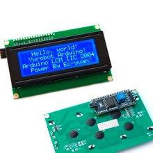 IIC/I2C/TWI Серийный ЖК 2004 20 х 4 Дисплей Щит Голубой Подсветкой для Arduino