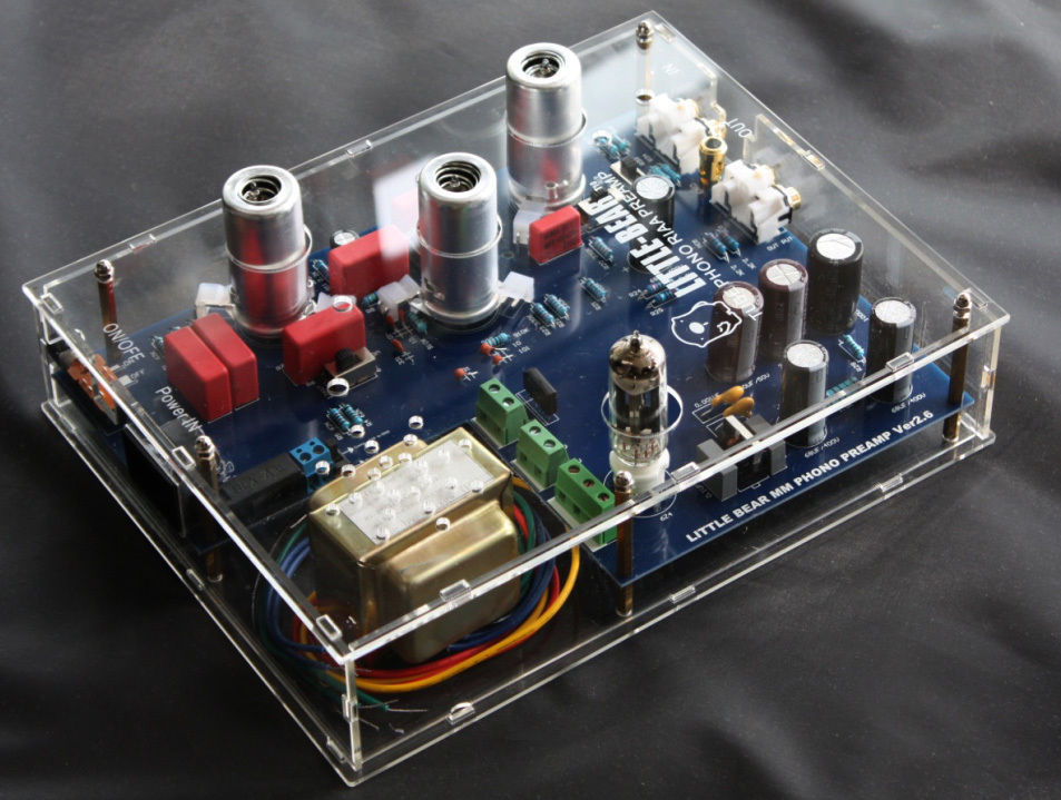 Little Bear T10 New Tube Phono Preamp Pre-Amplifier MM Turntable RIAA HiFi V2.6 music hall latest little bear t11 6n2 12ax7 vacuum tube phono turntable preamp hifi pre amp mm riaa phonograph preamplifier