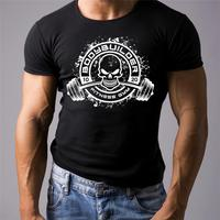 Gymerer Bodybuilding T Shirt Workout Mma Beast Hulk Mode Clothing Weight Lifting Men Cotton T Shirt