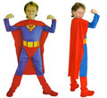 Halloween Children superman costume boy and girl super hero fan clothing cosplay kid party costume halloween holiday