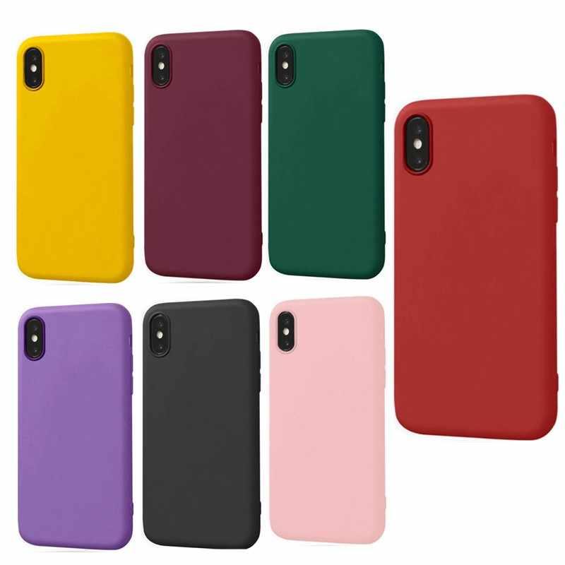 ソフトシリコンケース iphone XS Max X XR iphone 6 S 6 4S 5 5 S 5SE 7 8 プラス 7 プラス 8 プラス超薄型 Tpu の携帯電話バックカバーケース