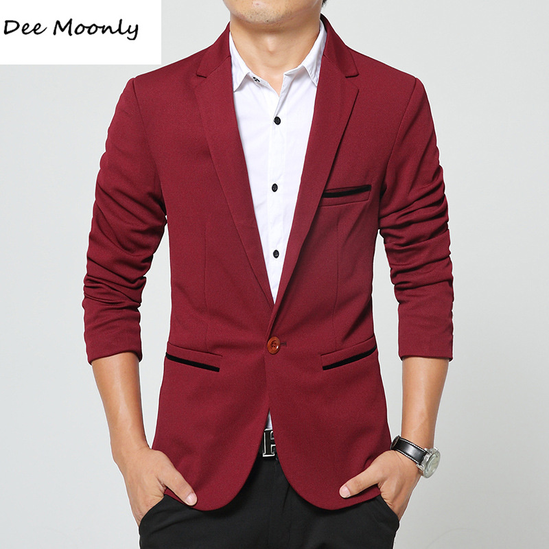 Aliexpress.com : Buy DEE MOONLY 2007 Men slim fit fashion blazer ...
