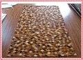 2.0x3.0 metros teñido alfombras de cuero genuino patchwork lujo dormitorio alfombra Decorativa