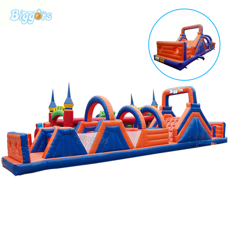 Party Carnival Commercial Bounce House Combo Inflatable Obstacle Course Bouncy Castle With Blowers commercial inflatable bouncy castle slide inflatable bounce house jump house combo with blowers