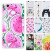 TPU Soft Cases sFor Huawei P9 Lite case for Fundas Huawei Ascend P9 lite Transparent Printing Drawing Silicone Phone Cases Cover