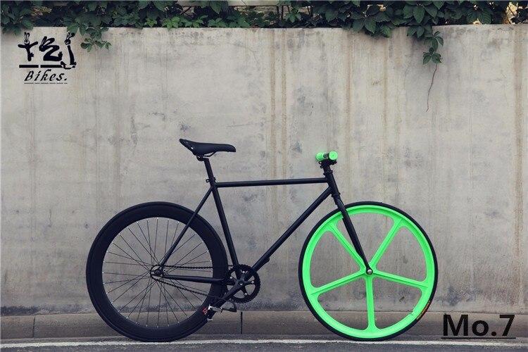 Coup de coeur fixie Aliexpress : noir et vert