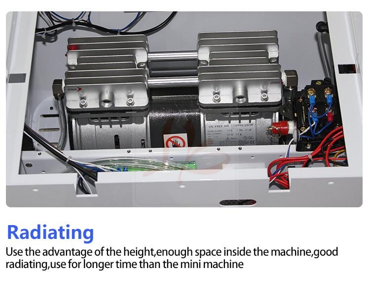 NIEUWE auto air lock LY 888A + touch screen OCA vacuum laminator Max 12 inches gecombineerd lamineren en ontschuimende. - 5