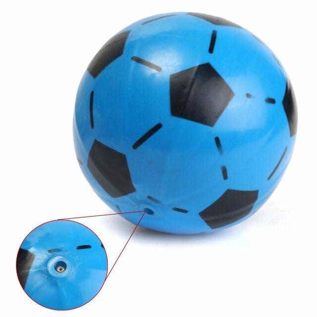 568a0c7ea Inflável PVC Bola de Futebol de futebol Brinquedos para Crianças Crianças  Festa de Verão Praia de
