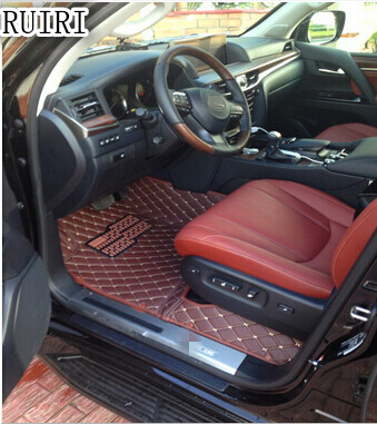 Buona qualità! Tappetini auto speciale per Lexus LX 450d 5 Sedili 2016 impermeabile tappeti tappeti per LX450d 2018-2015, trasporto libero