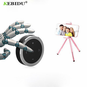 Image 2 - Kebidu Wireless Bluetooth Media Steering Wheel Remote Control mp3 Music Play for Android IOS Smartphone Control Car Kit Styling