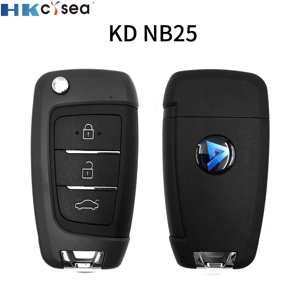 HKCYSEA 2pcs/lot NB25 Universal KD Remote For KD-X2 KD900 Mini KD Car Key Remote Replacement Fit More Than 2000 Models