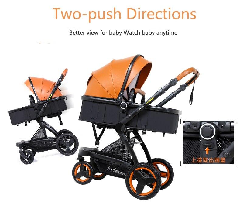 luxury baby stroller 3 in 1 (15)