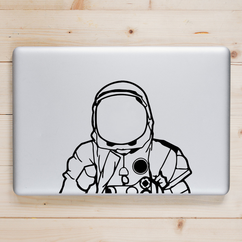 NASA Astronaut Helmet Laptop Decal for Apple Macbook Sticker Pro Air Retina 11 12 13 15 inch Dell Mac Book Skin Notebook Sticker
