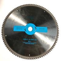 Free Shipping Professional Quality 355 30 25 4 3 2 100T TCG Teeth TCT Saw Blade