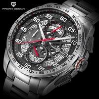 Original PAGANI DESIGN Mens Watches Top Brand Luxury Sports Watch Men Chronograph Waterproof Quartz Watch Relogios Masculino
