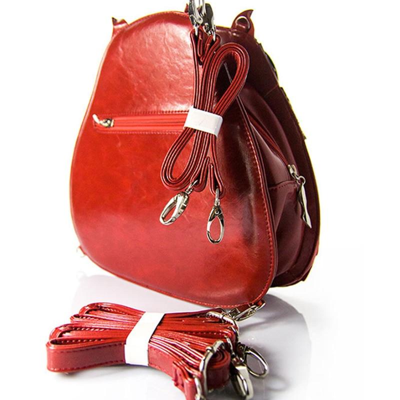 Nouveau dames délicatesse hibou motif Messenger sacs nouveauté qualité Animal forme Unique motif femmes marque conception à la main sacs à main - 5