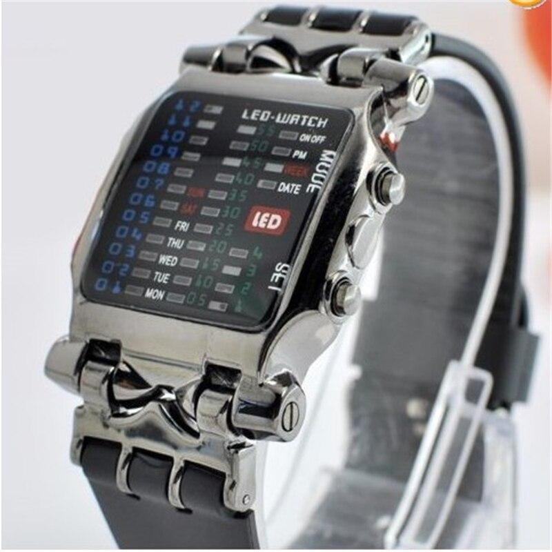 NEW Fashion Mens Business Stainless Steel Quartz Wrist Watch Crab modeling Electronic Watch Hot cocoshine a 999 mens stainless steel business quartz wrist watch blu ray wholesale