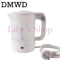 DMWD Dual Voltage Traveling Electric Heating Kettles Travel Water Heater Mini Cup Portable Electric Kettle 0