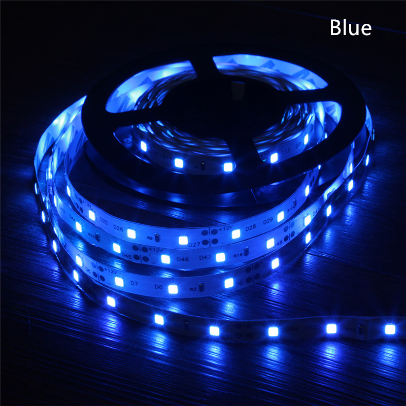 FGHGF Led Strips Light RGB Warm White Led Tape SMD2835 Led Strips DC12V No Waterproof /Waterproof 60 Pcs/m Led Tape 5M/roll