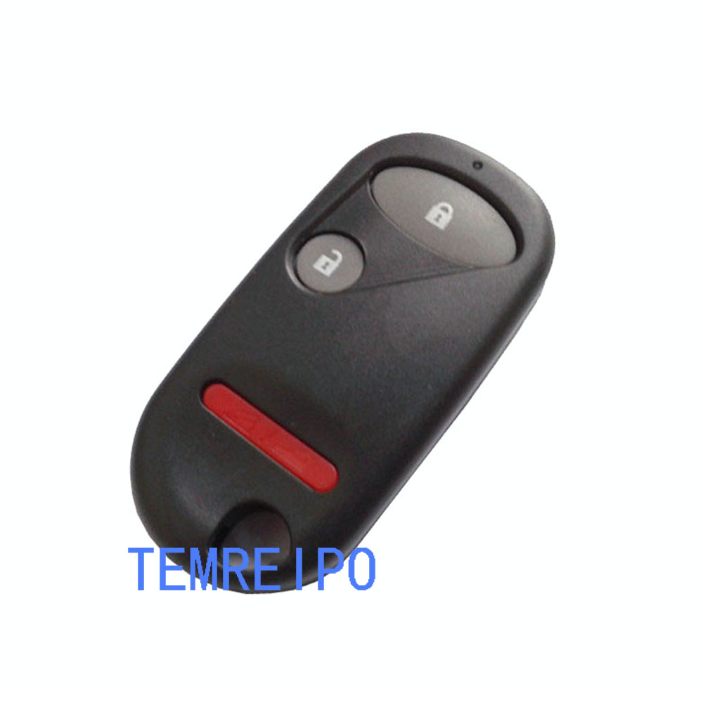 20pcs/lot 2+1 button Remote Car Key Shell Cover For Honda with battery place image
