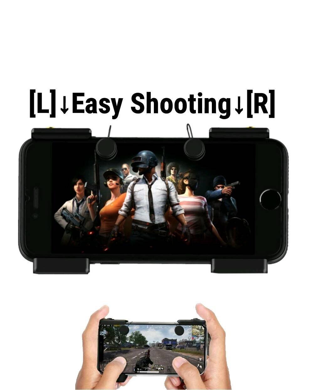 Coltelli fuori Regole di Sopravvivenza Gioco Mobile Pulsante di Fuoco Obiettivo Chiave Smart phone Mobile Gaming Controller Trigger L1R1 Sparatutto PUBG V X