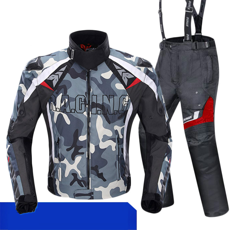 2018 new motorcycle jacket summer mesh breathable racing anti drop jacket men's riding suits