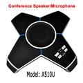 A510U полностью 360 всенаправленный аудио конференц-динамик live studio телефонный Конференц-стол микрофон