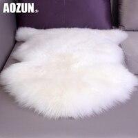 Australia Imported Wool Carpets Bedroom Living Room European Style Whole Sheepskin Cushion Sofa Cushion Pad Windows