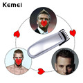Kemei Professional Men's Hair Trimmer Cutter Battery Hair Cutting Kit Haircut Beard Removal Electric Shaver Barber Clippers P00