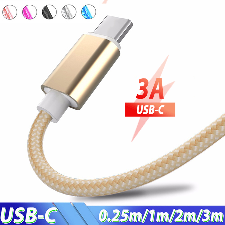 en title1:0.25m 1.5m 2m 3m USB Type C Cable Usb c Usb C Charger Cable Cabel For Samsung Galaxy S8 S9 S10 Plus M20 Xiaomi Redmi Note 7 Pro|Mobile Phone Cables| |  - AliExpress