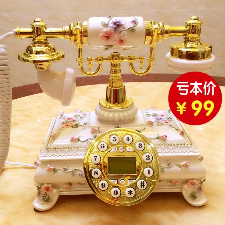 Корейский сад античный телефон милые Старинные Европейский стиль вилла бытовые фиксированной телефонной