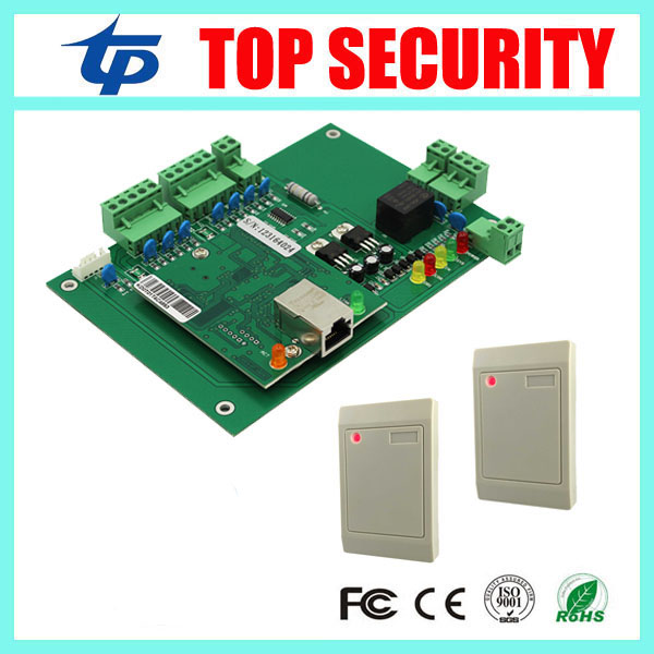 Hotsale cheap price DHL free shipping one door TCP/IP door access controller access control board smard card access control