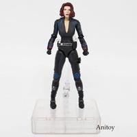SHFiguarts SHF Figuarts Marvel Super Heros Age of Ultron Avengers Black Widow SH Figuarts PVC Action Figure Collectible Toy 15cm