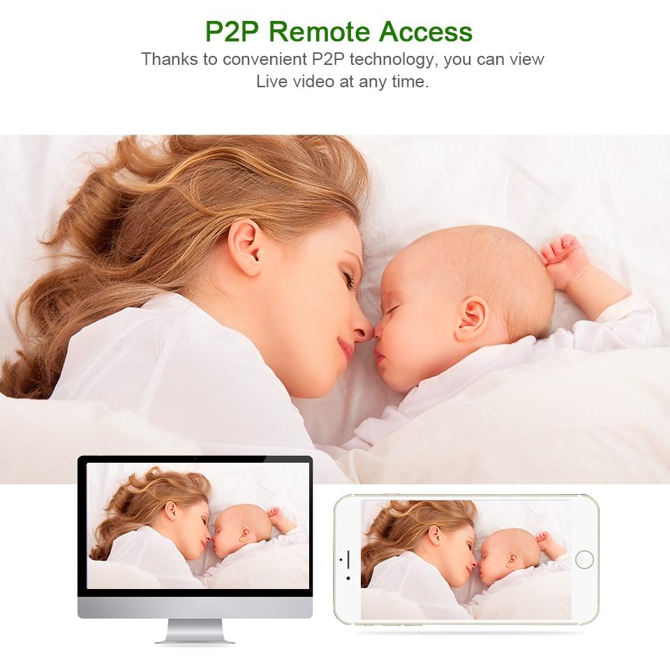 HTB1wg2SicyYBuNkSnfoq6AWgVXab BESDER 1080P 720P Home Security IP Camera Two Way Audio Wireless Mini Camera Night Vision CCTV WiFi Camera Baby Monitor iCsee