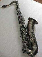 Новый японский Suzuki B плоский музыкальный инструмент тенор саксофон играть профессионально пункт черный никель золото саксофон бесплатная
