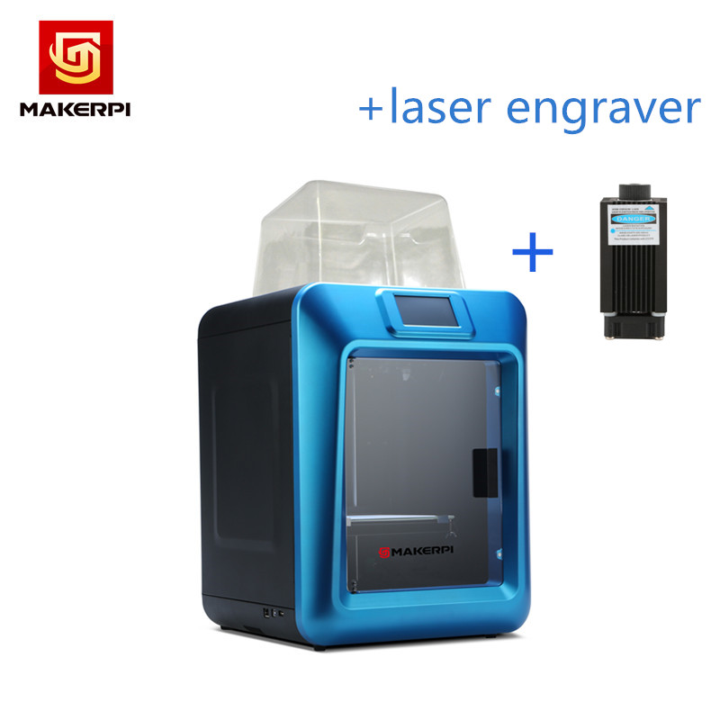 MakerPi 3D Printer K5 Plus with touch screen/Smart Leveling wifi Free Laser Engraver Dropshipping 1