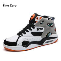Fine Zero man big size 46 mix color high top sneakers Men's Skateboarding shoes Athletic Shoes male Walking Sport Outdoor Shoes