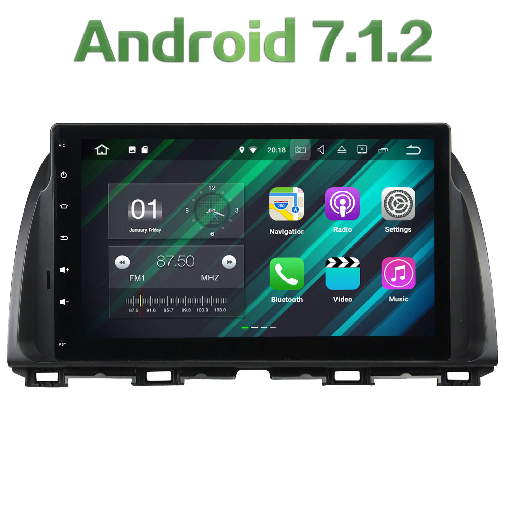 2GB RAM Android 7 1 2 Quad core Steering Wheel Control Car multimedia Player Touch Screen