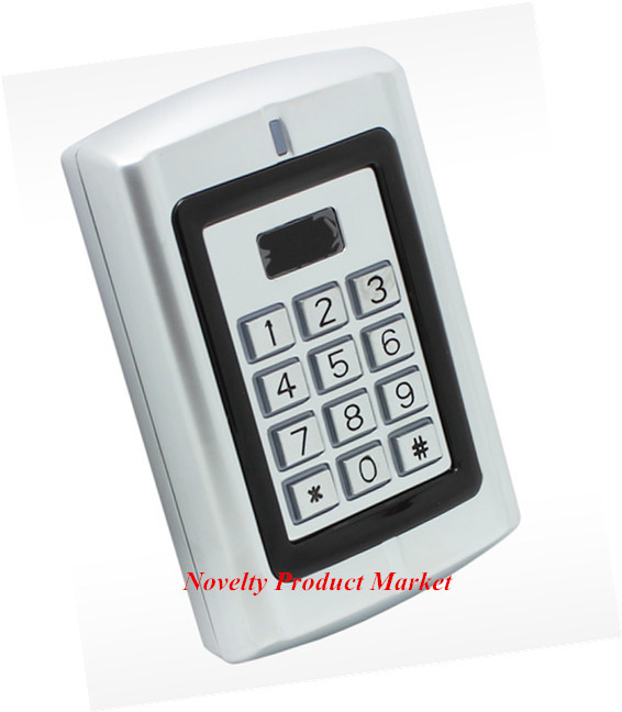 125 Khz Water-Proof 1000 User Door Access Control System Metal Case Door Lock ...