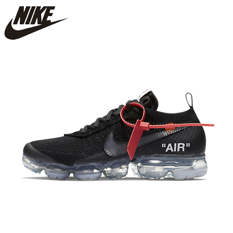 55388cf58d NIKE X Off White VaporMax 2.0 Authentic AIR MAX Breathable Men's Running  Shoes Sport Outdoor Sneakers