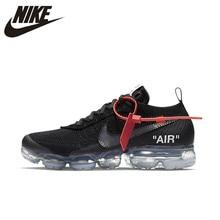 NIKE X Off White VaporMax 2,0 Аутентичные AIR MAX дышащая для мужчин's Беговая Спортивная обувь Открытый Спортивная обувь AA3831-002 EUR Размеры M