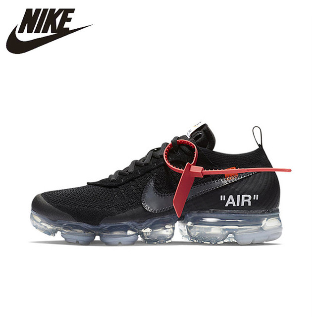 700b9ef54ca2e NIKE X Off White VaporMax 2.0 Authentic AIR MAX Breathable Men's Running  Shoes Sport Outdoor Sneakers AA3831-002 EUR Size M