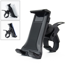 Bike Phone Holder Bicycle Handlebar Tablet Mount 360 Swivel Stand for iPad iPhone Samsung Huawei Q99 DJA99
