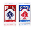 Playing cards Bicycle bridge size imported poker magic tricks blue color
