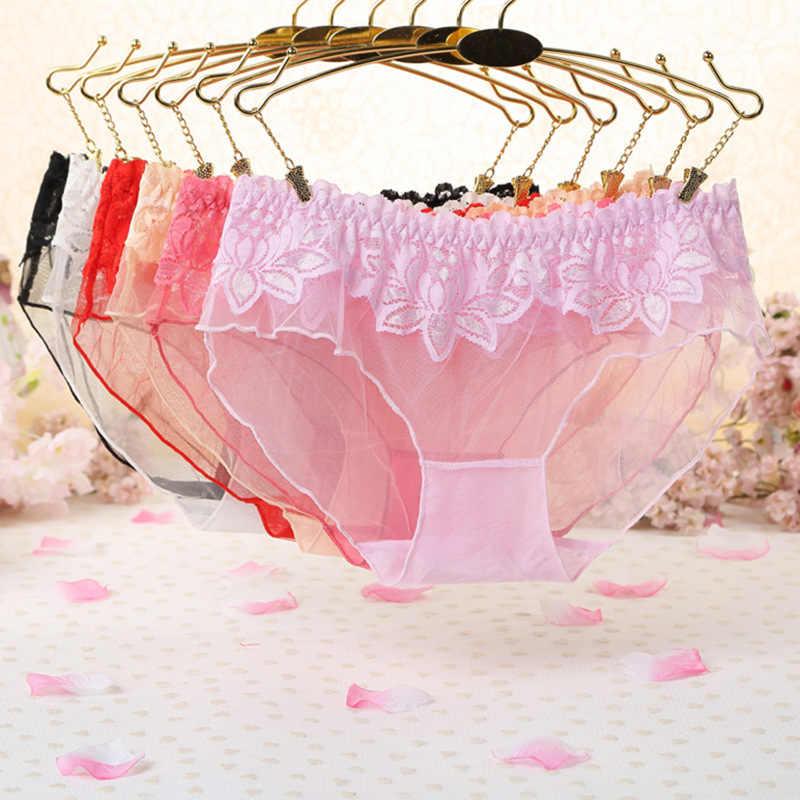 7 kleur Gift mooie kant bladeren vrouwen Sexy lingerie Thongs G-string Ondergoed Panties Briefs Dames t-back 1 stks/partij wq895