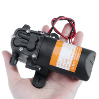 12V Misting Pump 160PSI High Pressure Booster Diaphragm Water Sprayer 20  40ft With 6 16pcs Nozzles