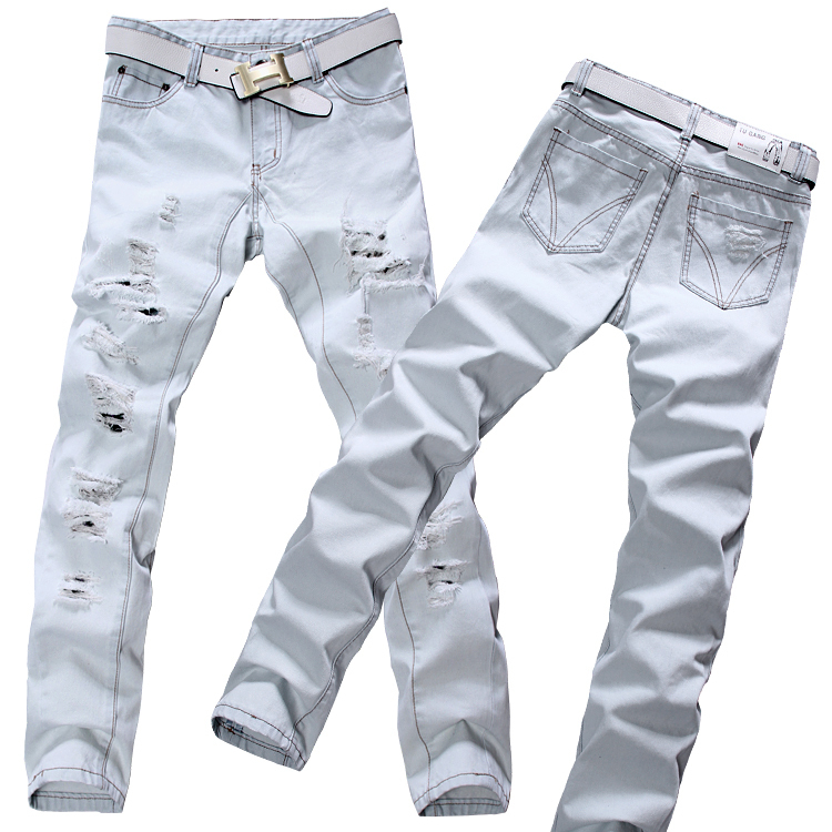 Compare Prices on White Jeans for Man- Online Shopping/Buy Low ...
